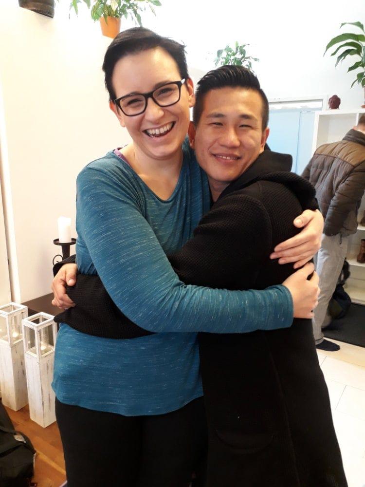 Natascha Wanek und Jang Ho Kim